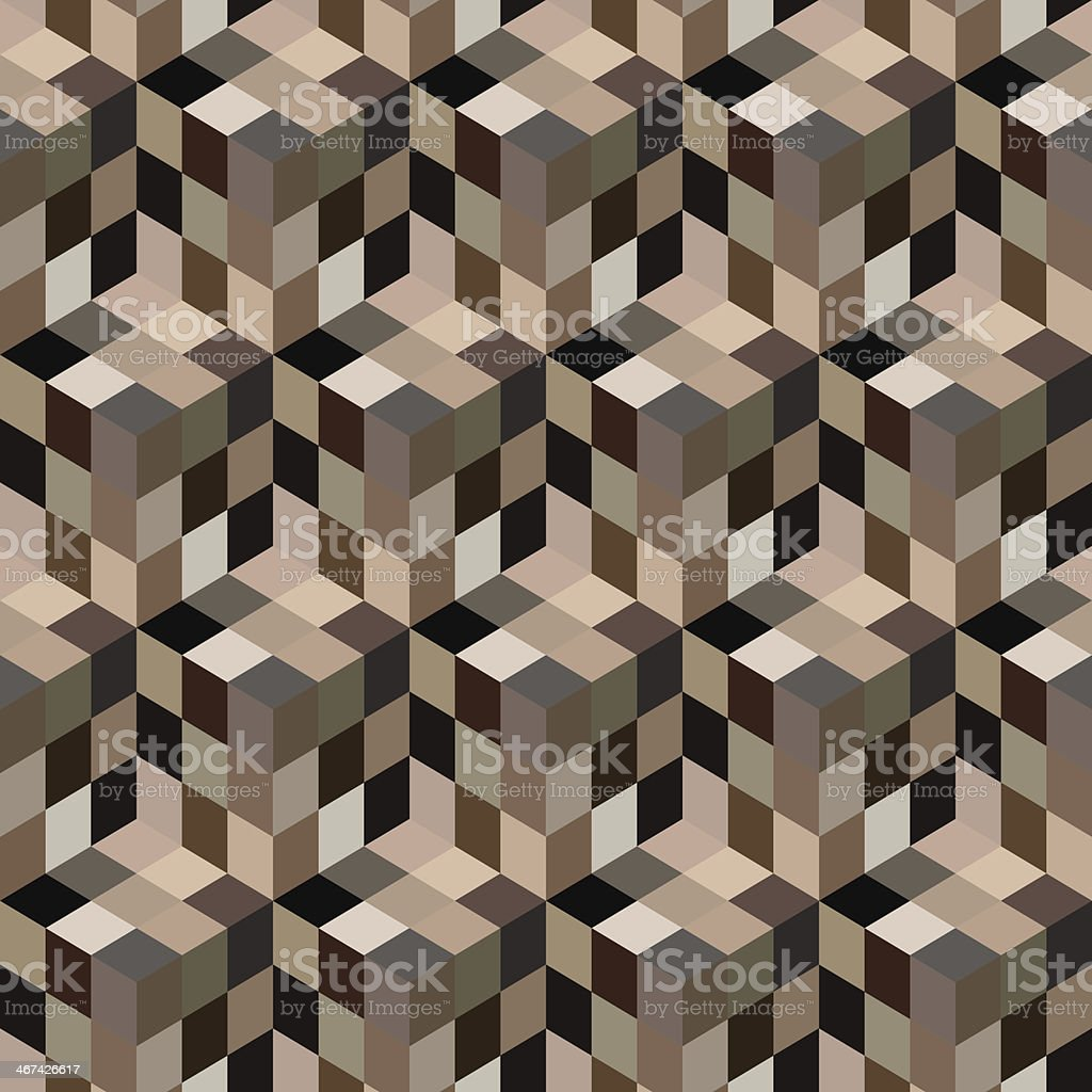 Seamless mosaic pattern. Vector illustration. vector art illustration