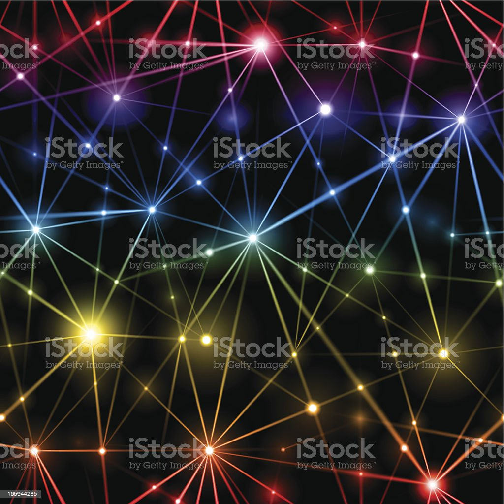 Seamless network background royalty-free stock vector art