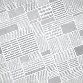 Seamless Newspaper Background