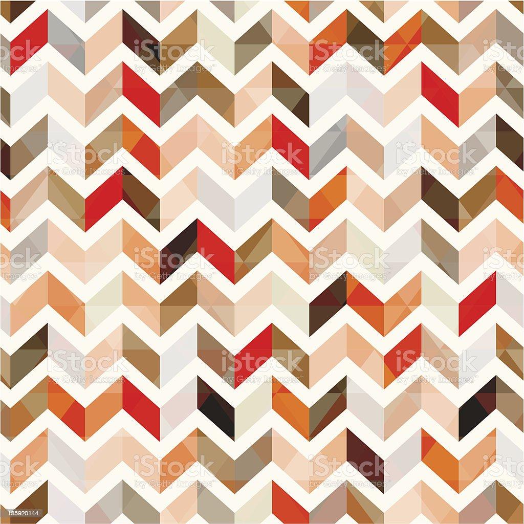 seamless orange herringbone vector background vector art illustration