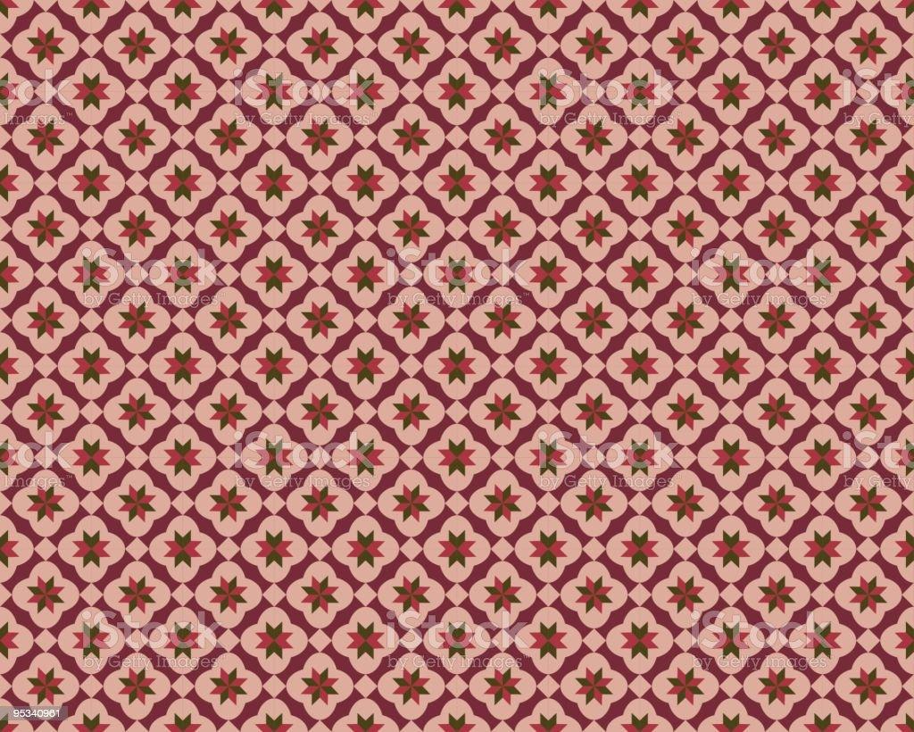 Seamless Orient Pattern royalty-free stock vector art