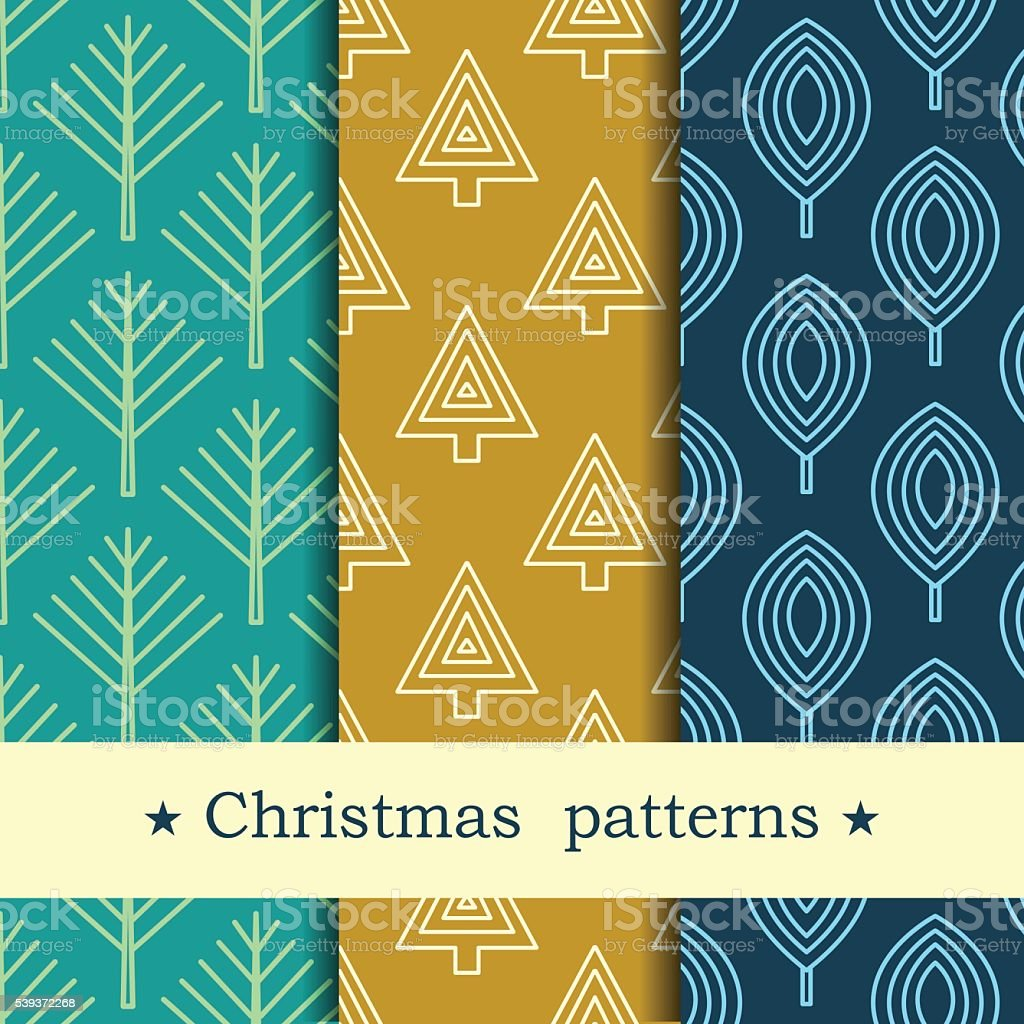Seamless pattern for winter and christmas theme. royalty-free stock vector art