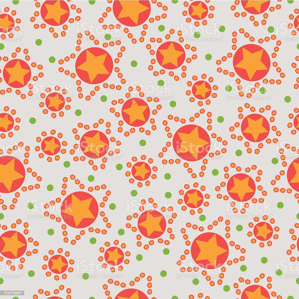 seamless pattern from stars royalty-free stock vector art