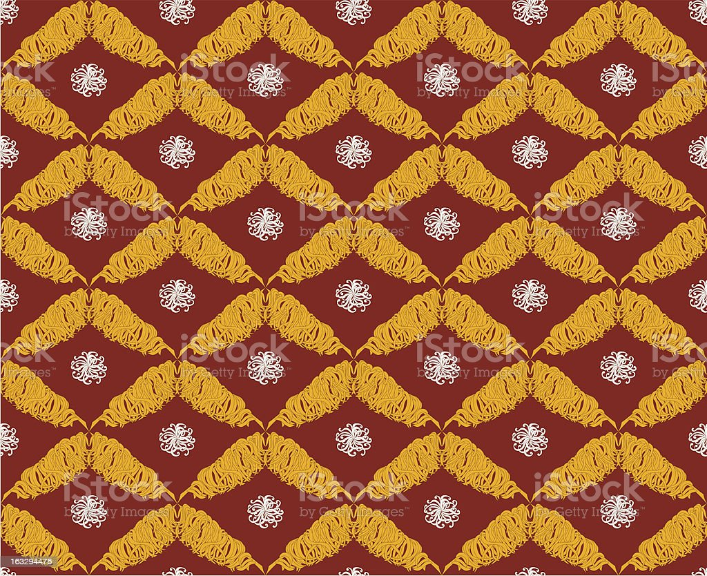 seamless pattern in oriental style royalty-free stock vector art