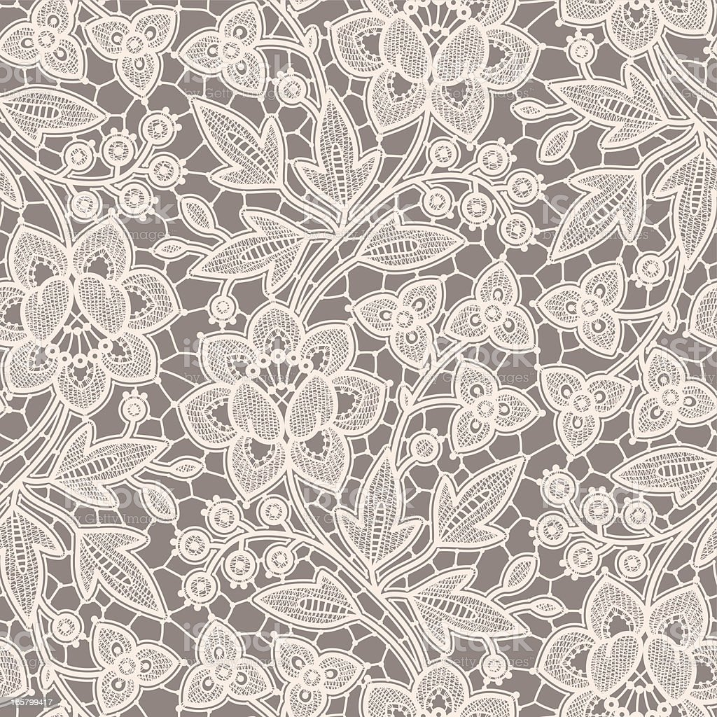 Seamless Pattern Lace. royalty-free stock vector art
