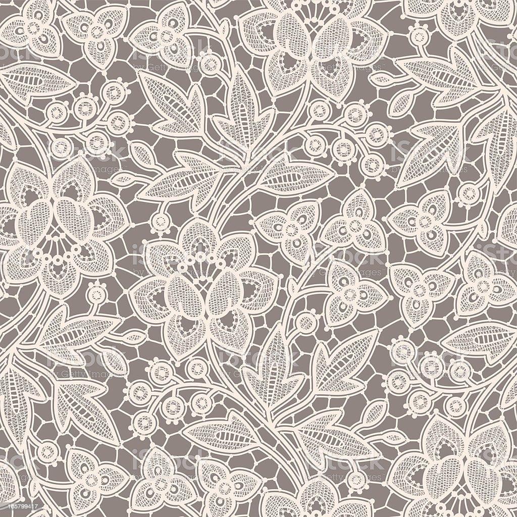 Seamless Pattern Lace. vector art illustration