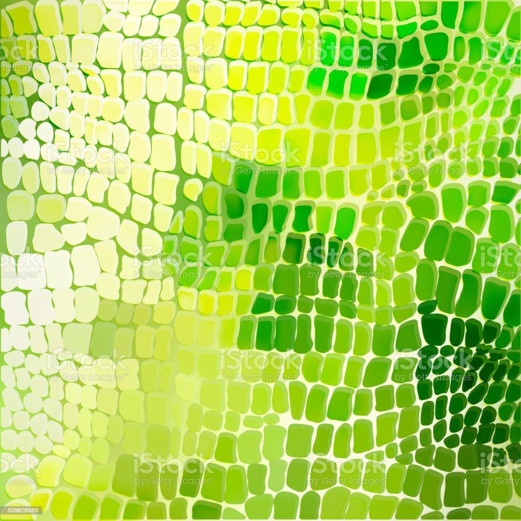 Seamless pattern look like lizard or dragon skin vector art illustration