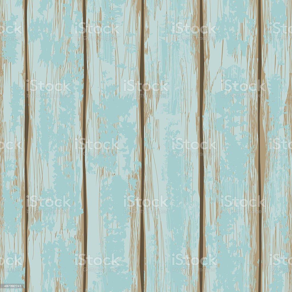 Seamless pattern of wooden boards vector art illustration
