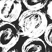 Seamless pattern on white background.