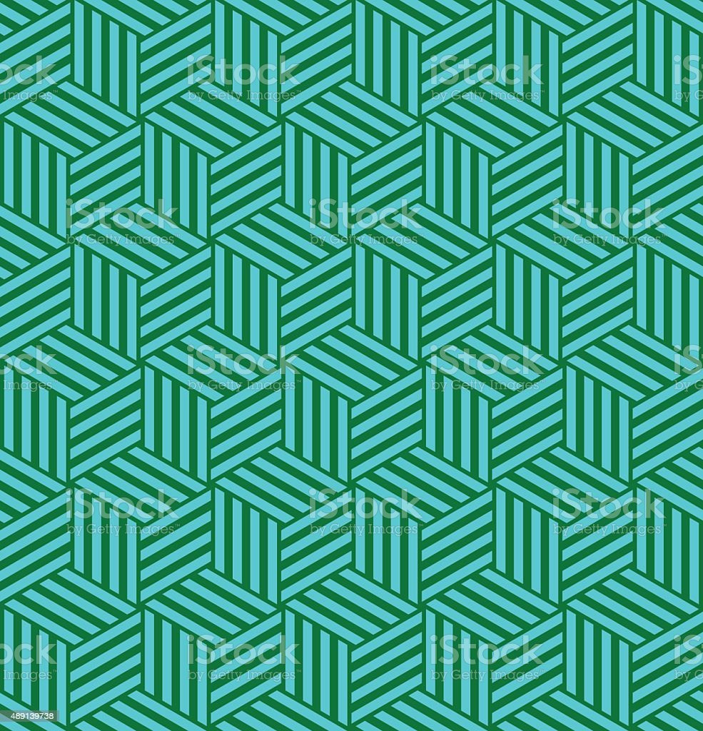 Seamless Pattern Petit Carre vector art illustration