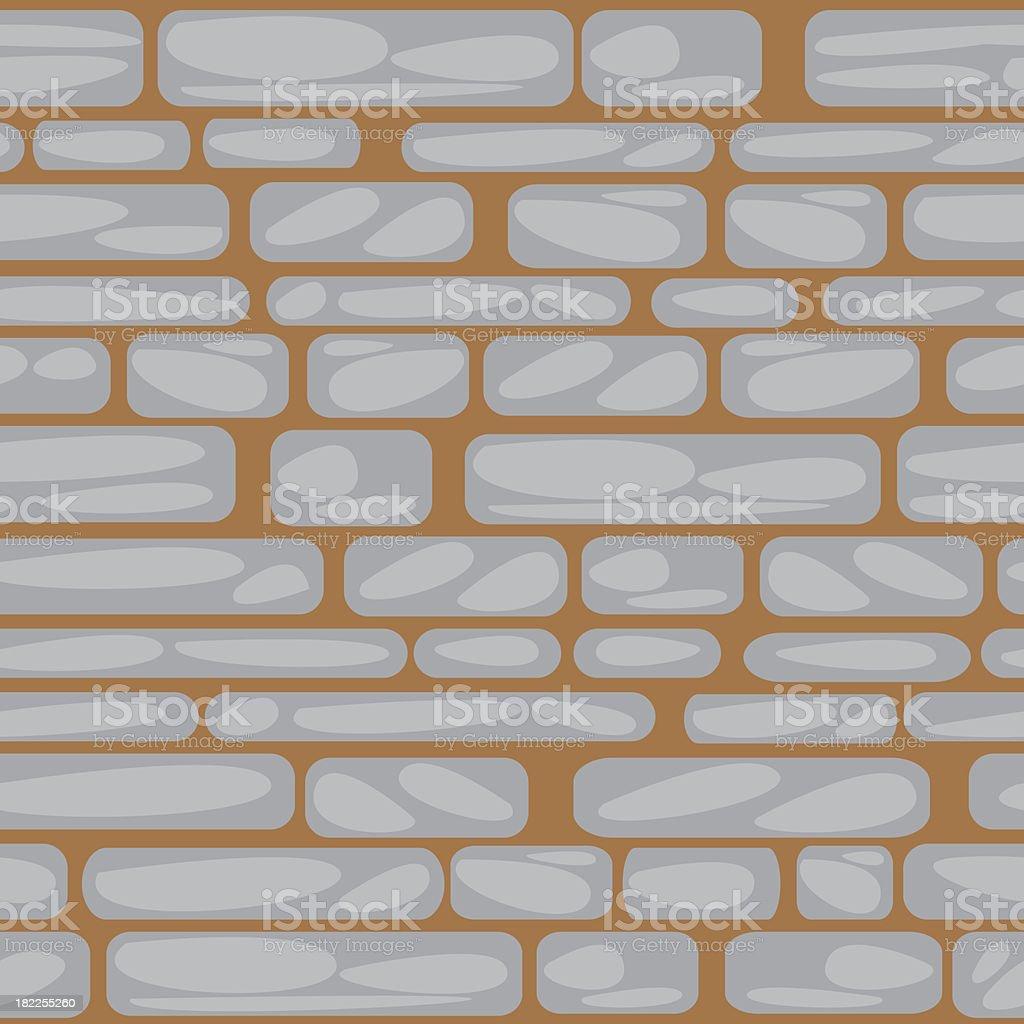 seamless pattern stone wall royalty-free stock vector art