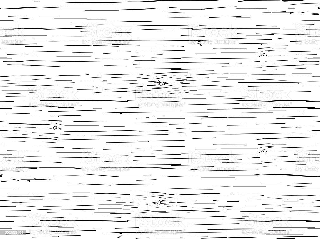 Seamless pattern tree vector art illustration