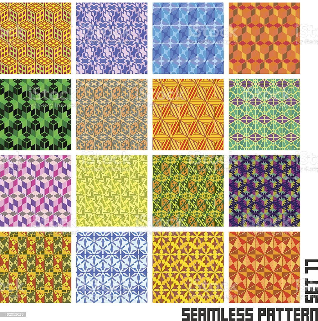 Seamless pattern. vector art illustration