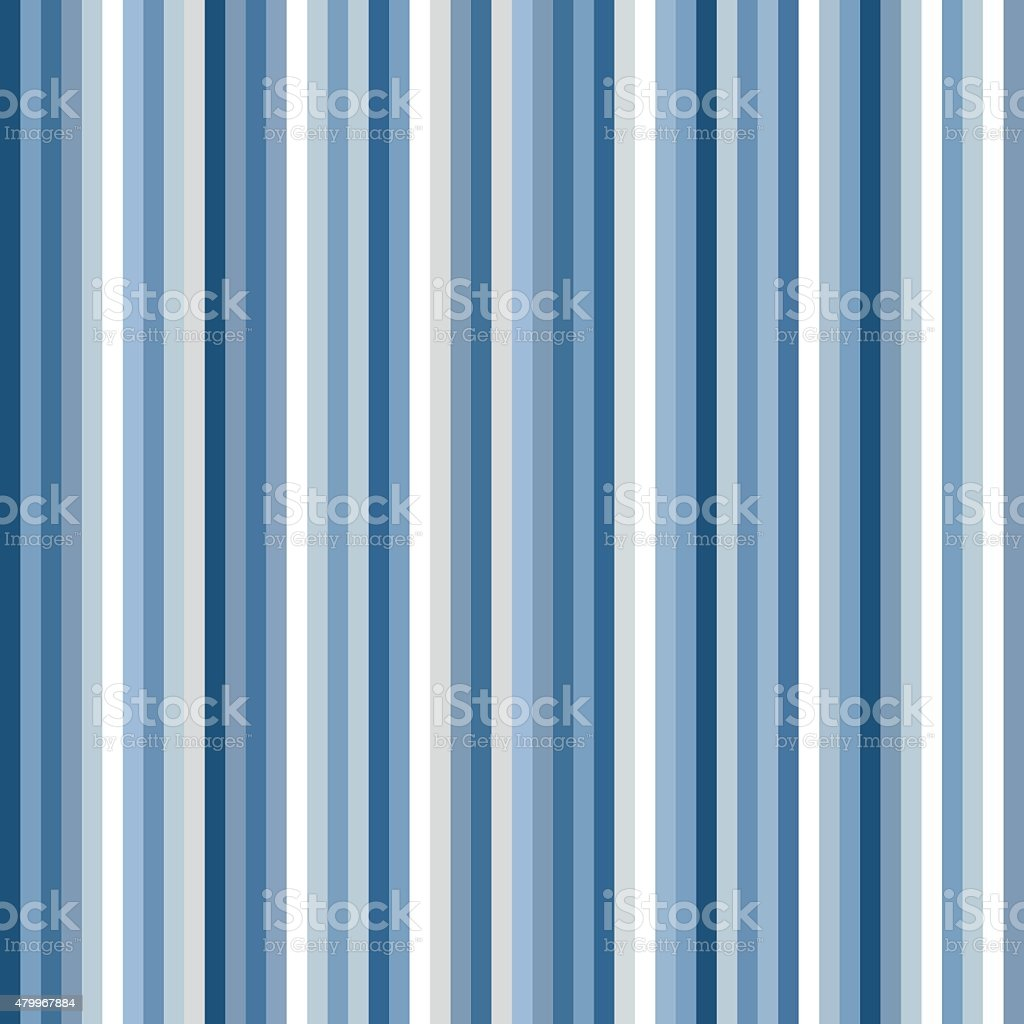 Seamless pattern with blue stripes vector art illustration