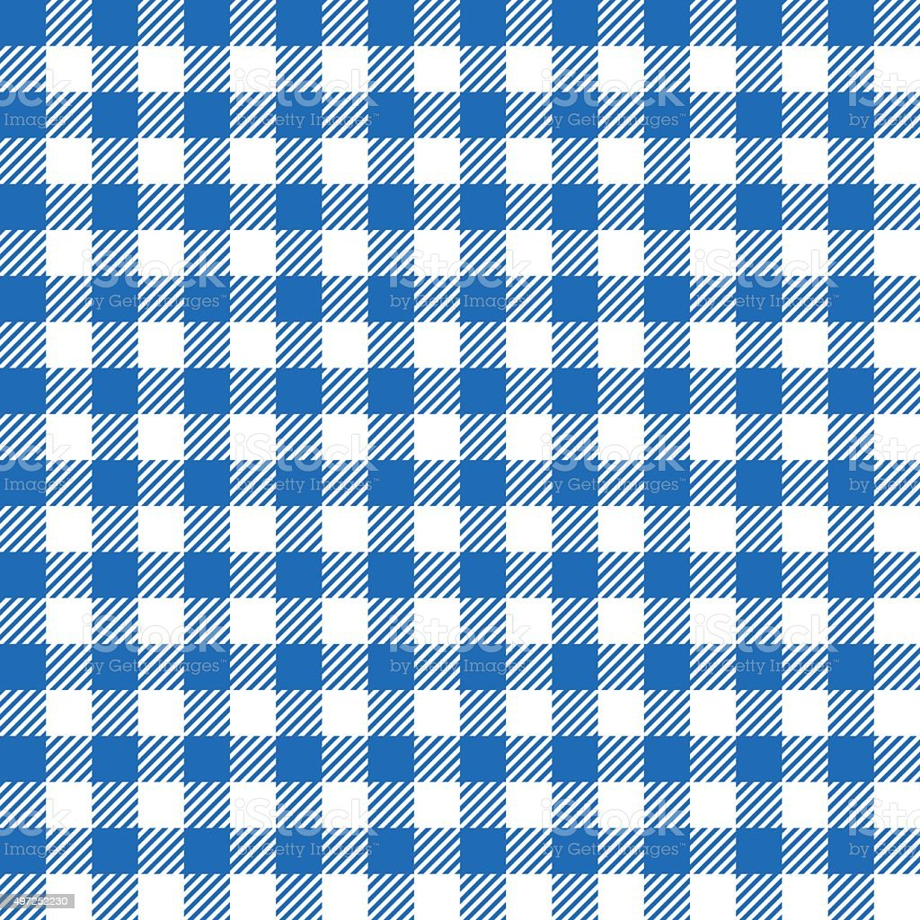 Seamless pattern with fabric texture vector art illustration