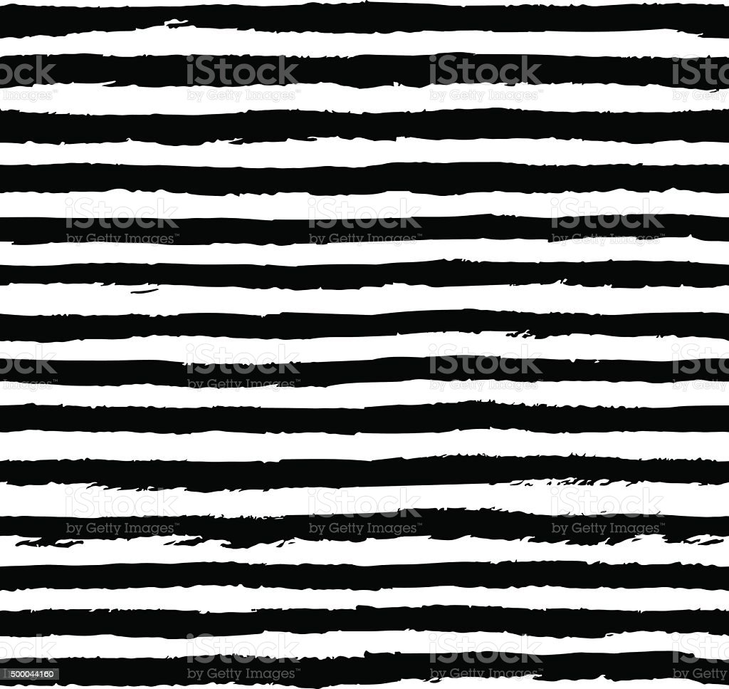 Seamless pattern with grungy stripes vector art illustration