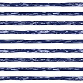 Seamless pattern with hand drawn stripes