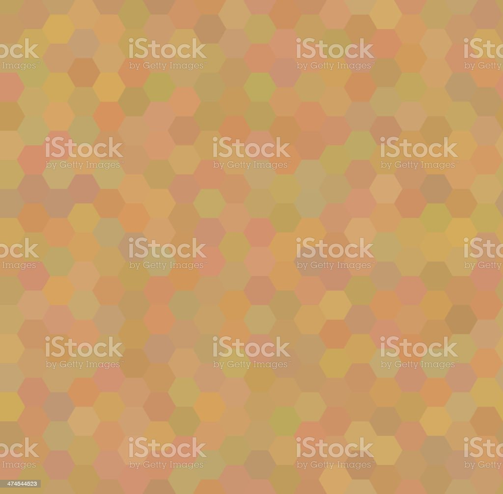 Seamless pattern with honeycombs royalty-free stock vector art