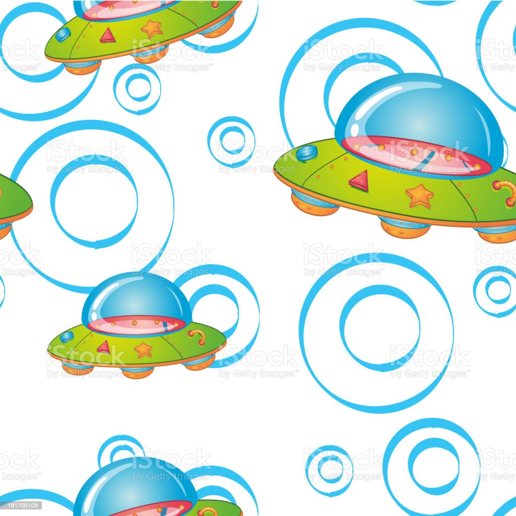 Seamless pattern with kid's theme royalty-free stock vector art
