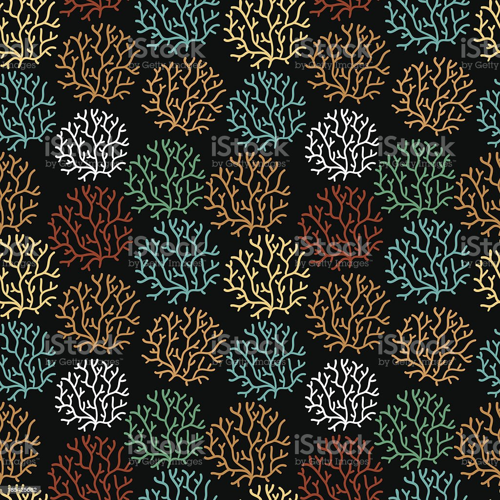 Seamless pattern with leaf royalty-free stock vector art