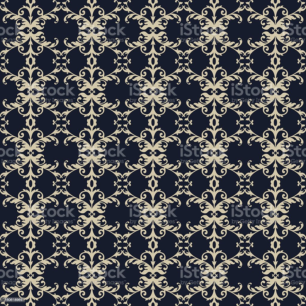 Seamless pattern with ornament royalty-free stock vector art