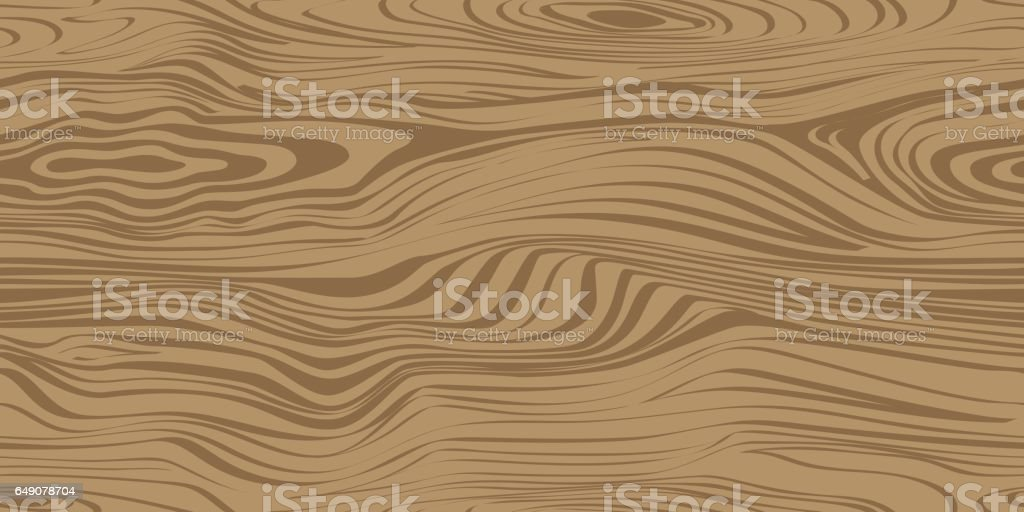 Seamless pattern with wood texture. vector art illustration
