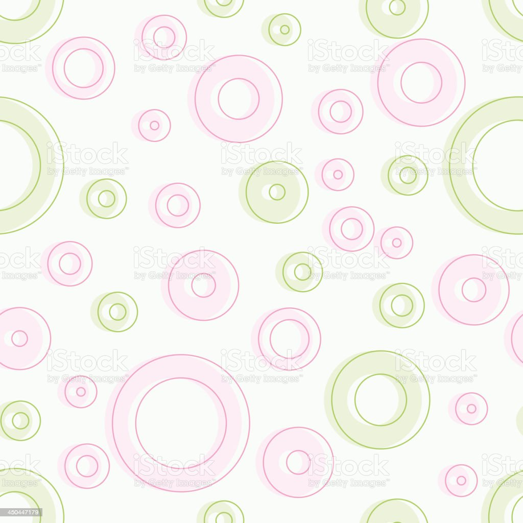 Seamless pink and green background. royalty-free stock vector art