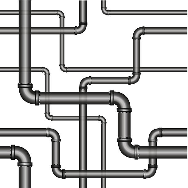 Gas pipe clip art vector images illustrations istock
