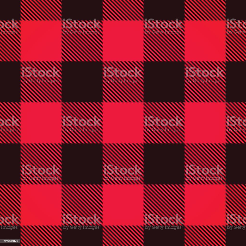 Seamless Plaid Background vector art illustration