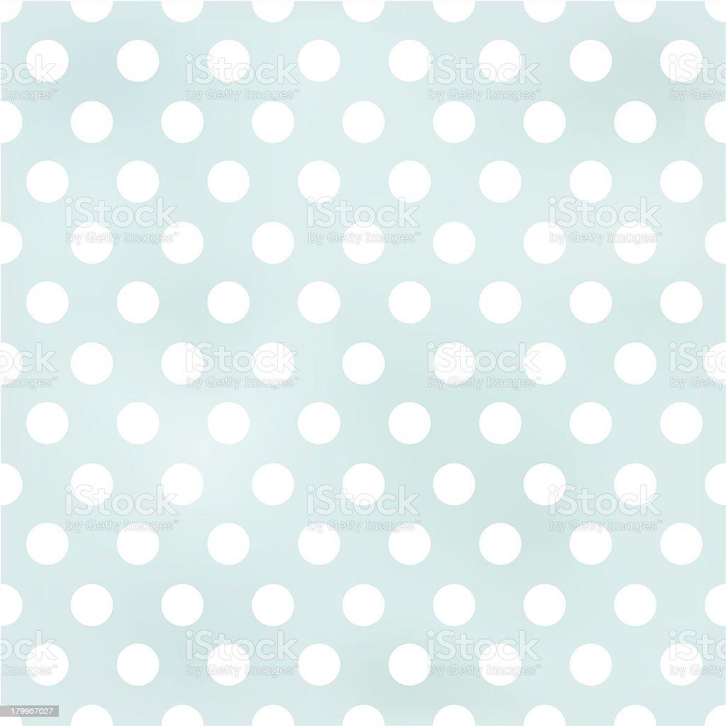 seamless polka dots pattern vector art illustration
