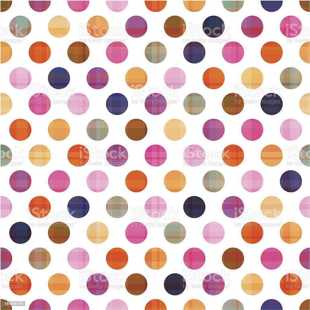 seamless polka dots pattern royalty-free stock vector art