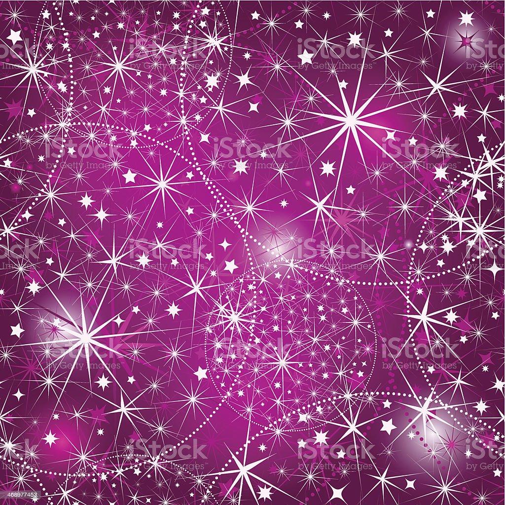 Seamless purple christmas pattern royalty-free stock vector art