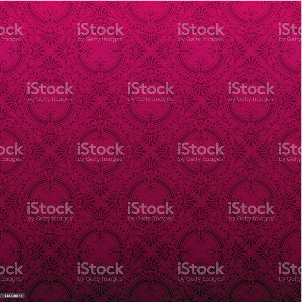 Seamless red ornamental background royalty-free stock vector art