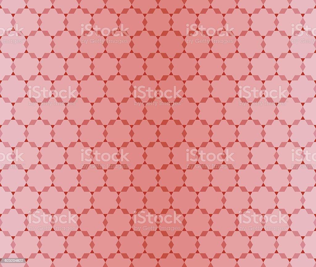Seamless Red pattern vector art illustration