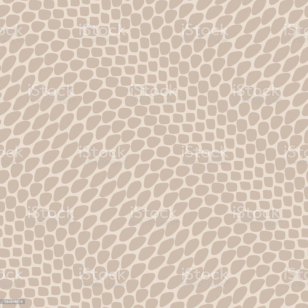 Seamless reptile skin pattern vector art illustration