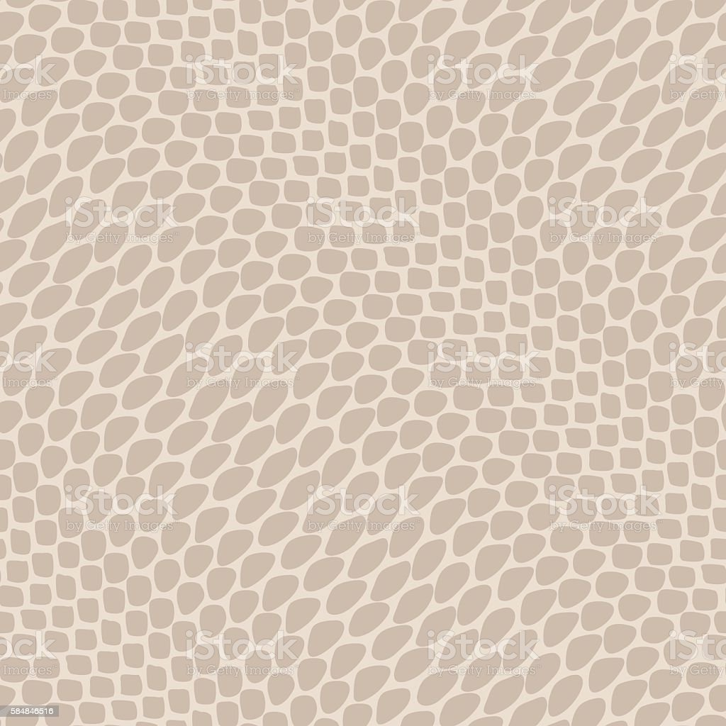 Seamless reptile skin pattern vector art illustration
