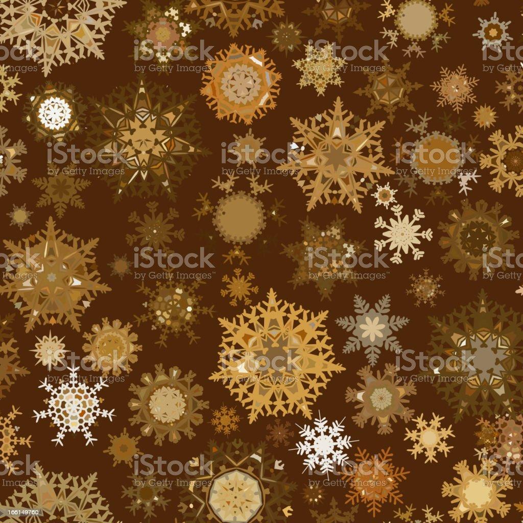 Seamless retro christmas texture pattern. EPS 8 royalty-free stock vector art
