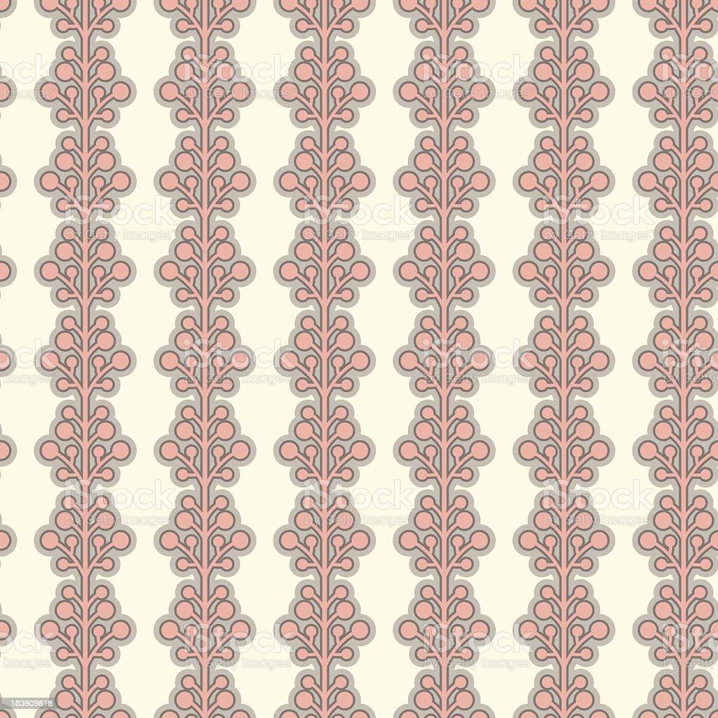 Seamless Retro Pattern vector art illustration