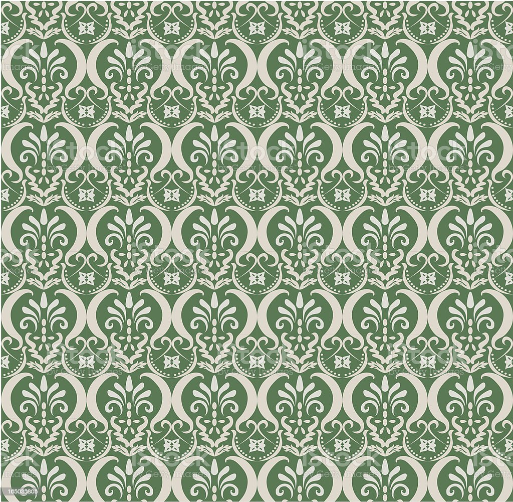 Seamless Retro Pattern ( Vector ) royalty-free stock vector art