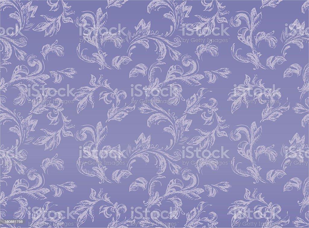 Seamless Sketchy Vintage Pattern stock photo