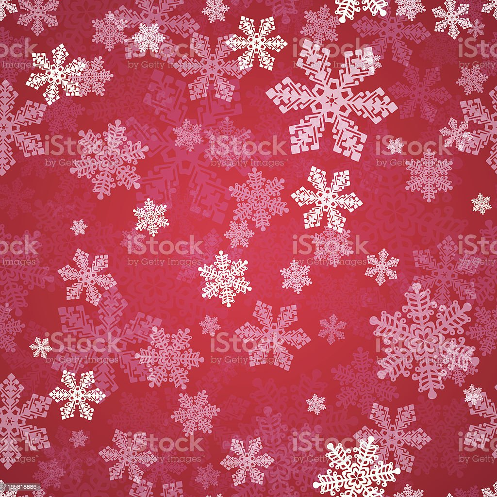 Seamless Snow royalty-free stock vector art