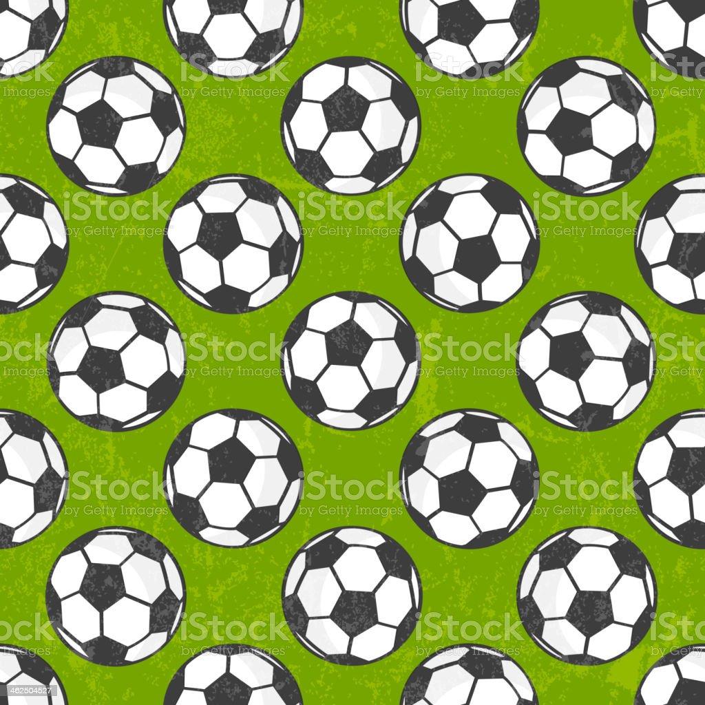 Seamless soccer pattern, vector background. vector art illustration