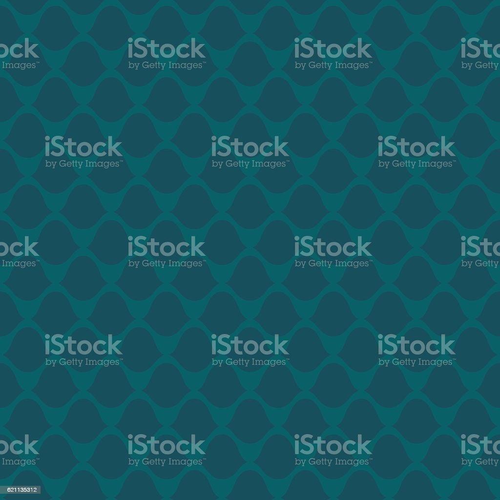 Seamless squama pattern vector art illustration