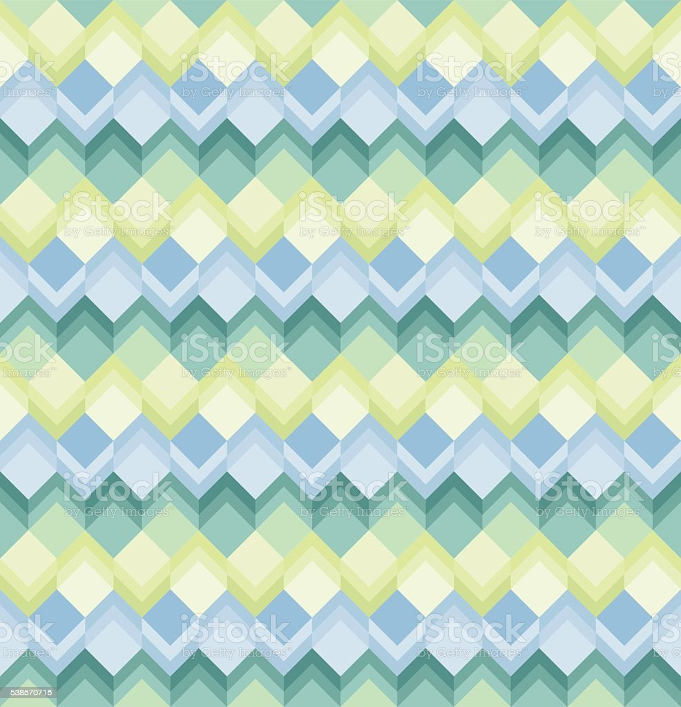 Seamless Square pattern vector art illustration