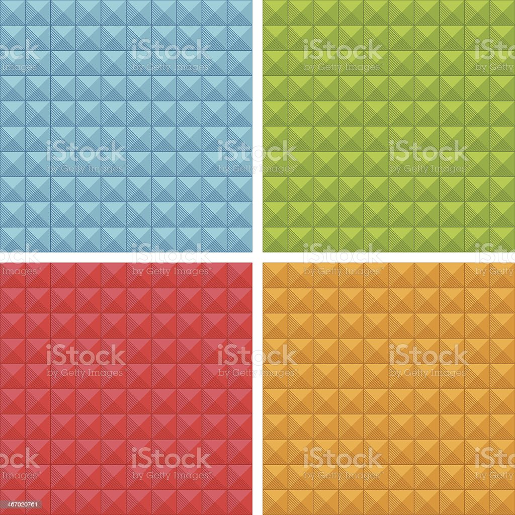 seamless square patterns royalty-free stock vector art