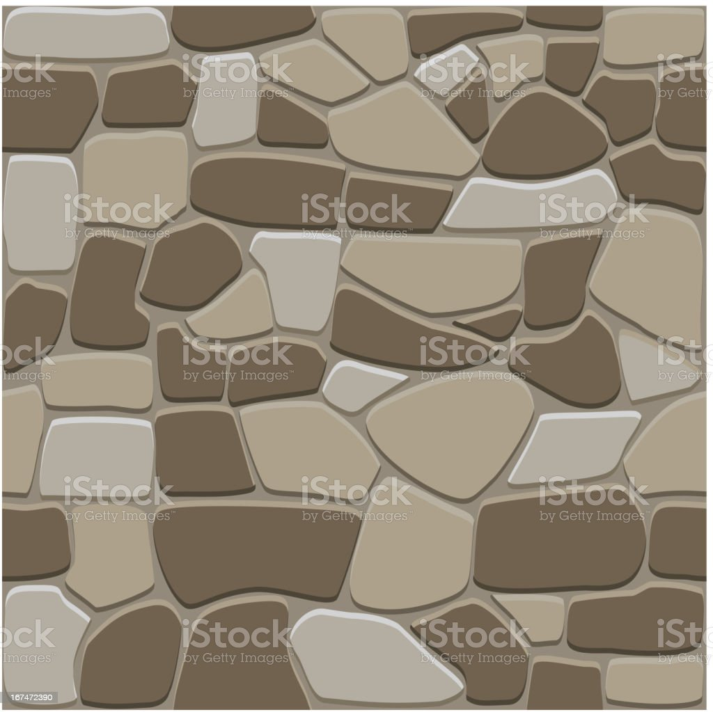 Seamless stone background royalty-free stock vector art