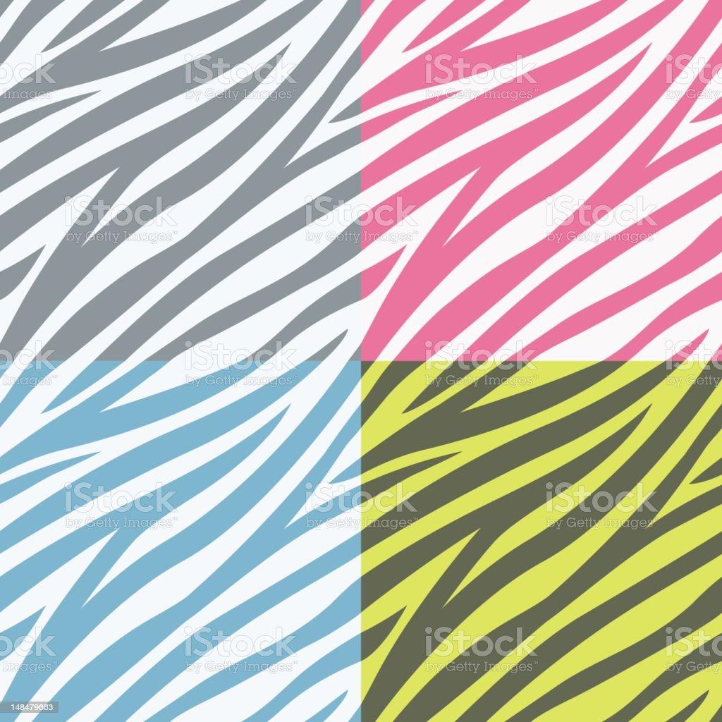 Seamless Stripes vector art illustration