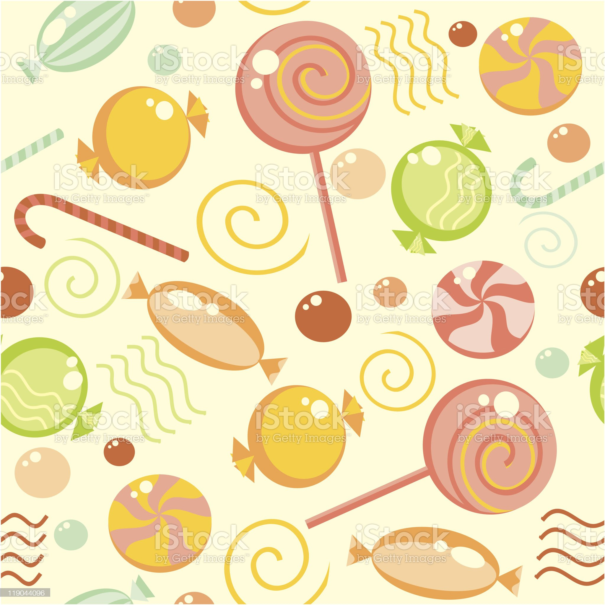 seamless sweets background royalty-free stock vector art