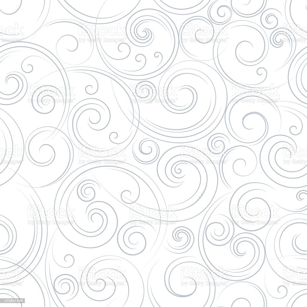 Seamless swirl background royalty-free stock vector art