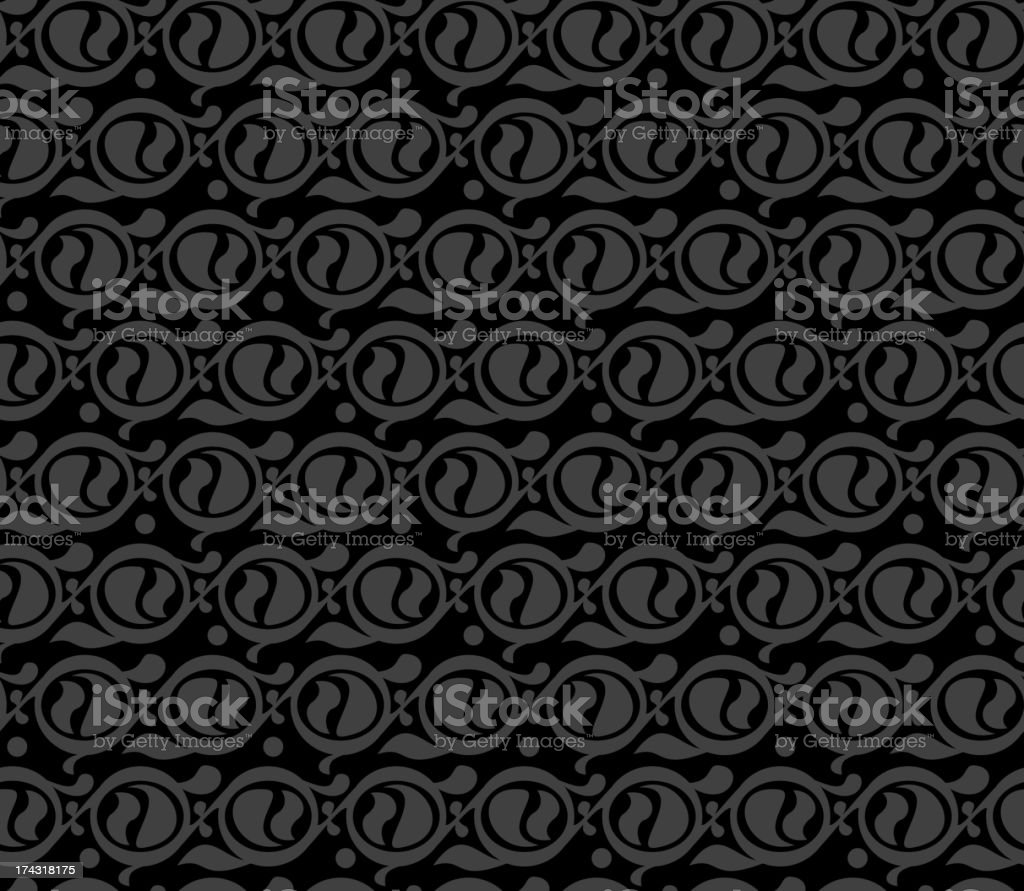 Seamless swirl pattern royalty-free stock vector art